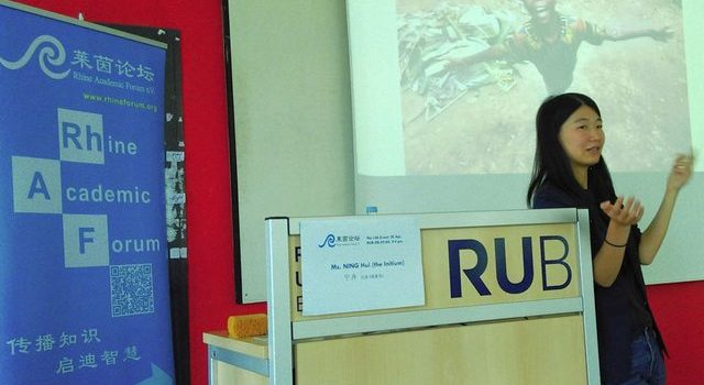 "第146期 活动总结 – 寻找穿越国境的""中国因素"",一个中国国际新闻记者的视角 | Rhine Academic Forum e.V. – Event no. 146 [Summary]: In search for across-border ""Chinese elements"" – Perspectives of a Chinese international journalist"